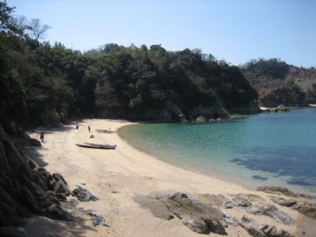 とある砂浜
