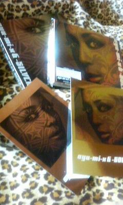 ayu-mi-x-6 GOLD・SILVER&ポストカード
