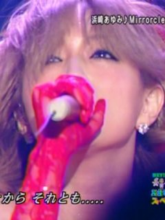 HEY!③spで歌うayu☆