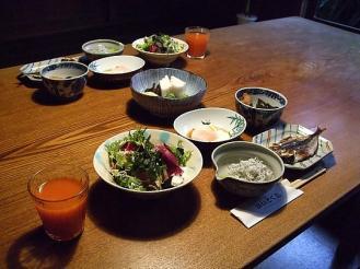 かいとく丸 朝食 (1)