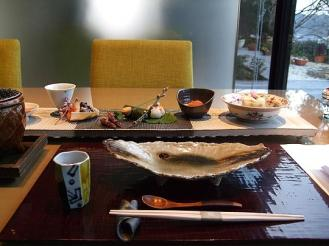 海のしょうげつ 夕食 (2)