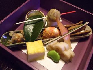 御所坊 夕食 (1)