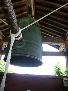 飛鳥寺の鐘