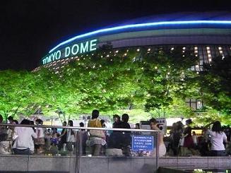 東京ドーム夜