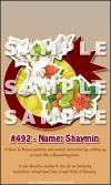 シェイミsample