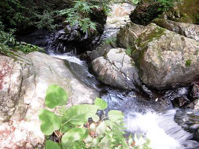 清流・滝谷川