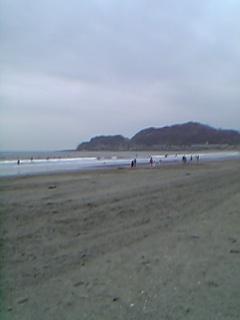 江の島をのぞむ