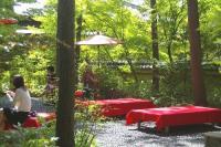 金閣寺の茶店