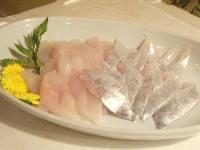 うまづらはぎと太刀魚の刺身300