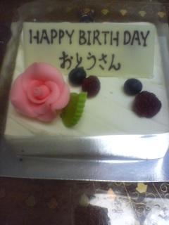 お父さんの誕生日
