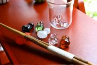 200ひょうたんモコグラス、箸置き_small
