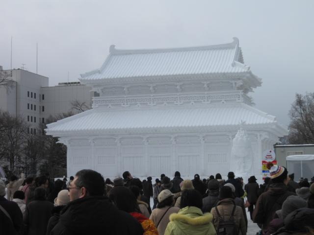 札幌雪祭り2010の2