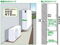 hitachi エコキュート 直圧スリム 460L