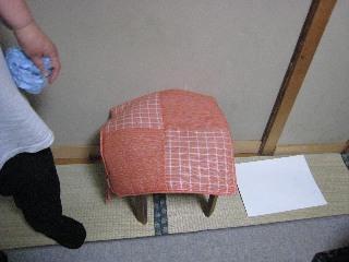 女将専用椅子