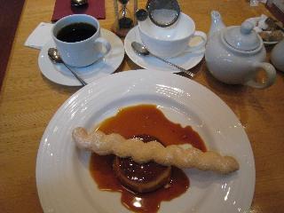 コーヒー紅茶&プリン