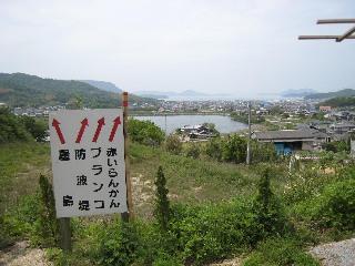 海が見える丘