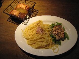 パスタ&ムネ肉