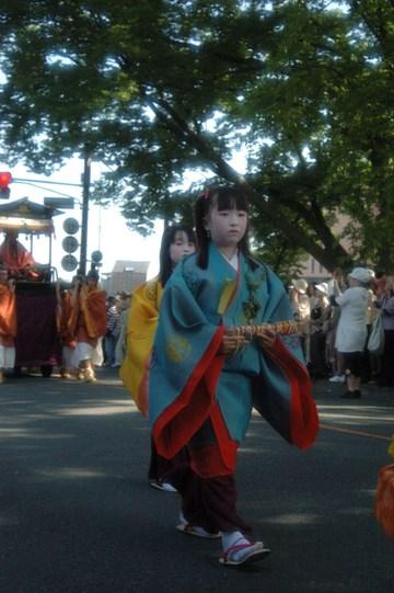 葵祭・賀茂街道2
