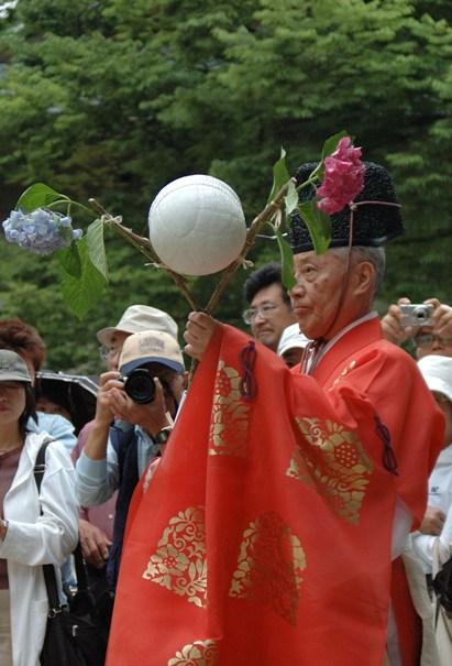藤の森神社・紫陽花祭・蹴鞠神事 2