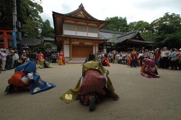 藤の森神社・紫陽花祭・蹴鞠神事 3
