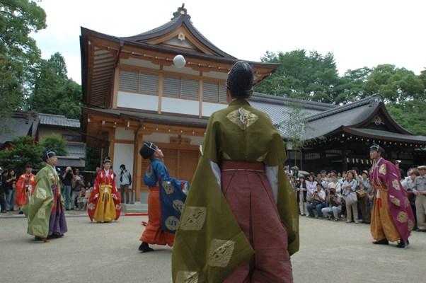 藤の森神社・紫陽花祭・蹴鞠神事 4