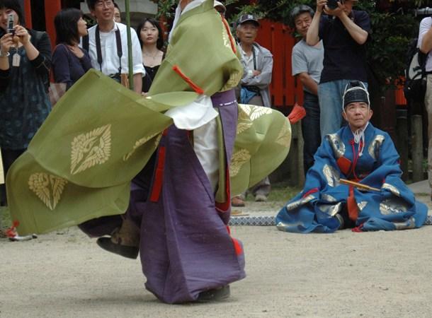 藤の森神社・紫陽花祭・蹴鞠神事 11