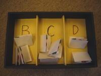 B・C・D賞のクジ