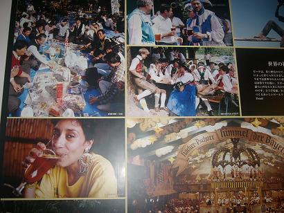 ビールを楽しむ外国の人々