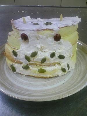 ぬりかべケーキ