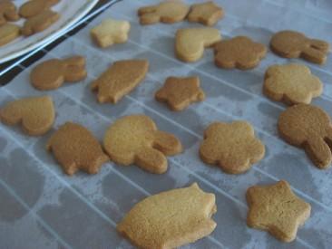 父と娘でクッキー作り3