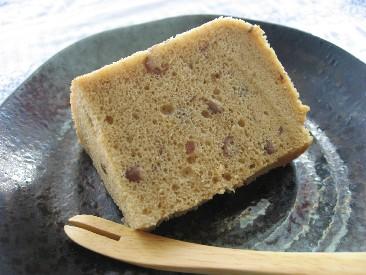 きなこ豆乳小豆シフォン2