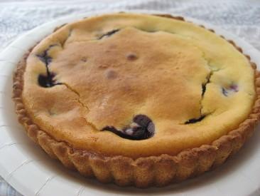 フレッシュブルーベリーのチーズタルト