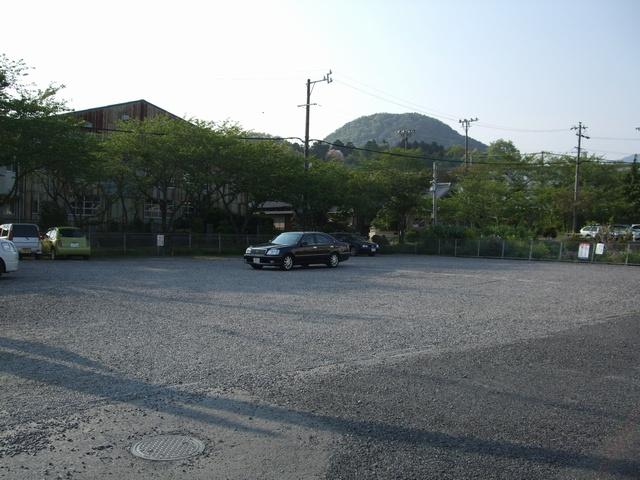 関宿観光駐車場内