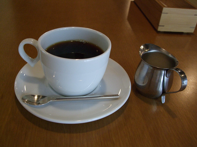 ほやら セットのコーヒー