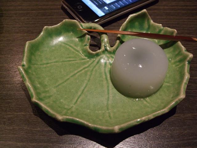 道中庵 水饅頭