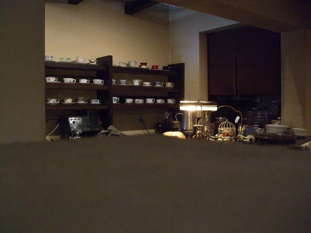 cafe de Sara 店内0807 02