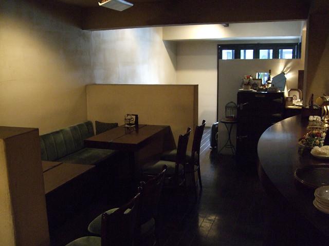 cafe de Sara 店内0807 04
