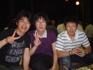 新入社員歓迎会08-06-20①