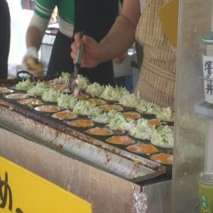 桜祭り大阪焼き