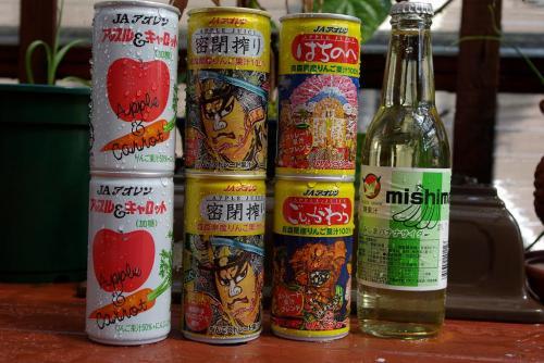 青森のジュース達 2008