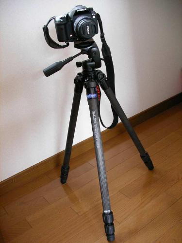 三脚 SLIK  カーボン 813 EX 購入
