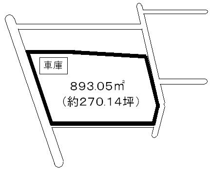 銚子市売り地図面