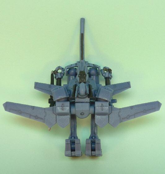 UAフラッグ飛行形態(上面より)