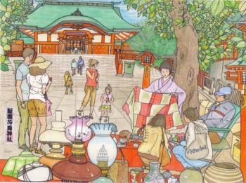 ブログ用花園神社