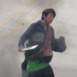 チベット人に扮する支那警官