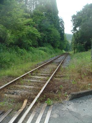田舎の線路~