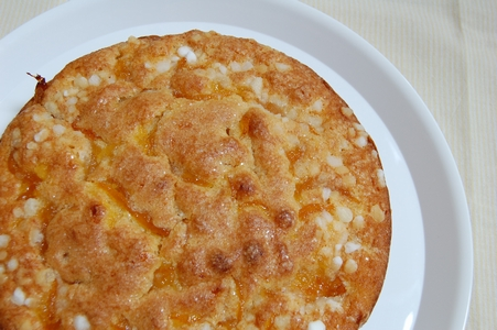 柚子のケーキ