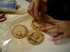 お絵描きクッキー参加者