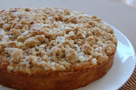 白胡麻のケーキ