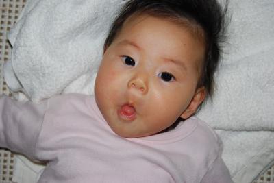 変顔 4ヶ月